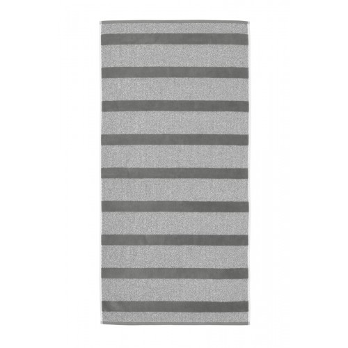 Beddinghouse badgoed Sheer Stripe (antraciet)