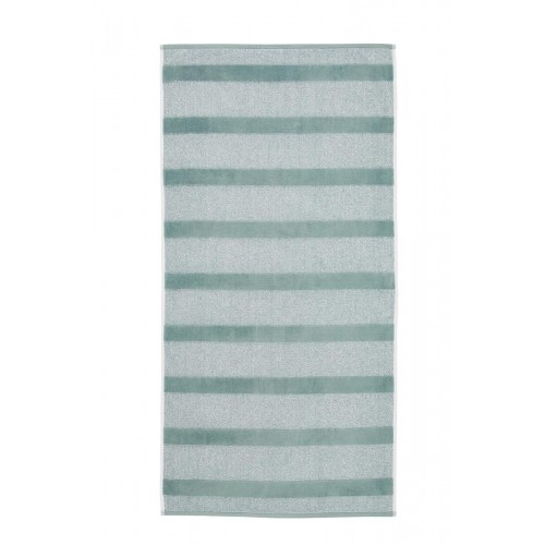 Beddinghouse badgoed Sheer Stripe (groen)