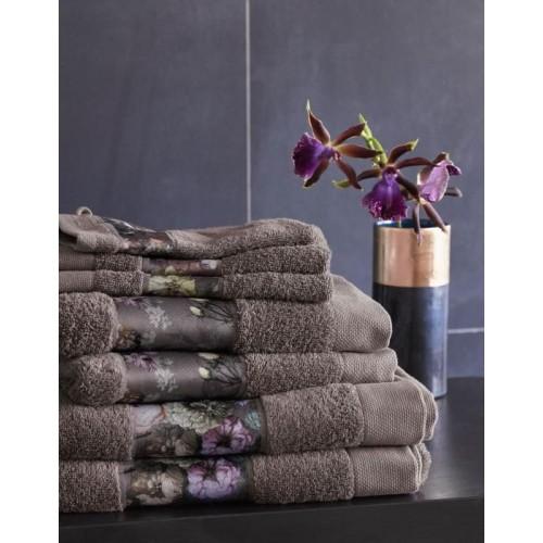 Essenza handdoek Fleur 60x110cm (taupe)
