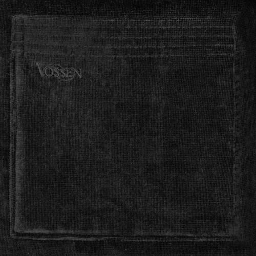 Vossen unisex badjas Texas (zwart)