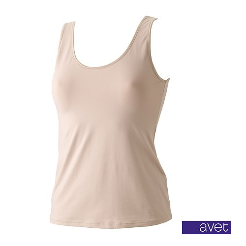 Avet dameshemd 7590 huid (microvezel)