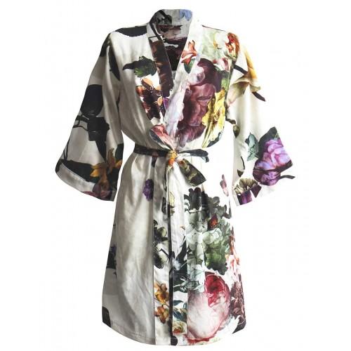 Essenza Kimono Fleur (satijn, ecru)