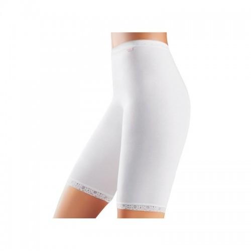 Cotonella short lang (wit)