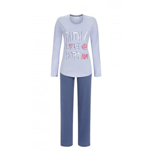 Ringella dames pyjama (lichtblauw, 7511202)