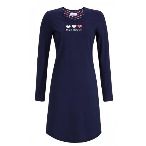 Ringella dames nachthemd (blauw, 9511001-286)