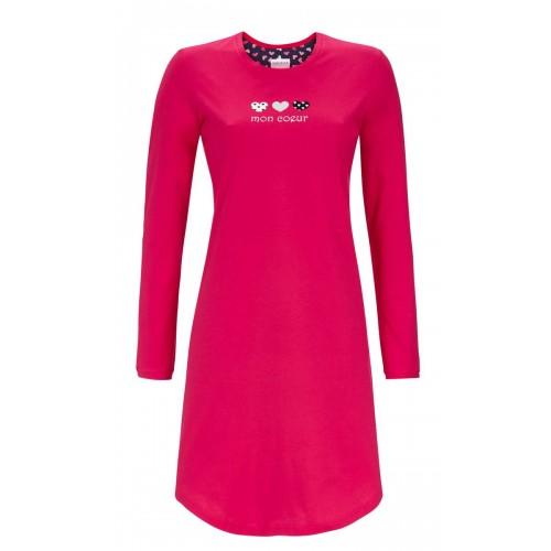 Ringella dames nachthemd (rood, 9511001-334)