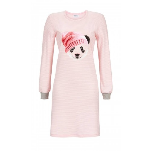 Ringella dames nachthemd interlock (roze, 9511029P-623)