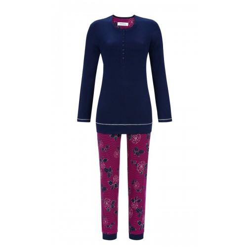 Ringella dames pyjama (donkerblauw, 9511236-286)
