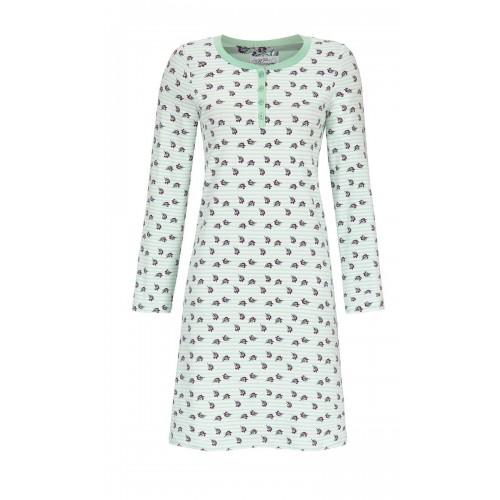 Ringella Bloomy dames nachthemd (groen, 9551003P-503)