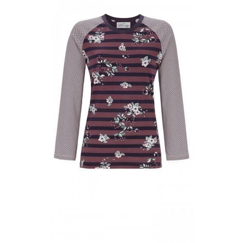 Ringella Bloomy dames t-shirt (blauw, 9551405P-270)