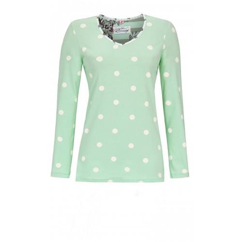 Ringella Bloomy dames t-shirt (groen, 9551406P-503)