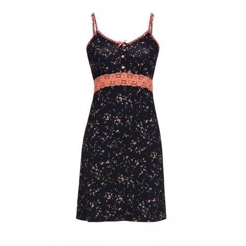 Ringella dames nachthemd (zwart, 9561005P-900)