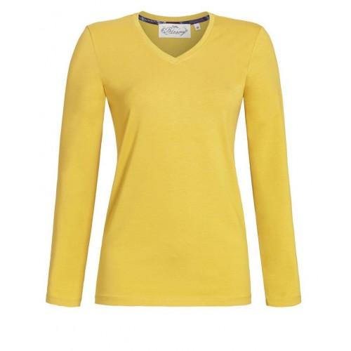 Ringella Bloomy dames v-hals shirt (honey, 0551404)