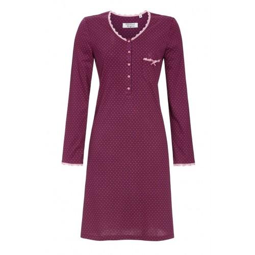Ringella dames nachthemd (purple wine, 0561011)