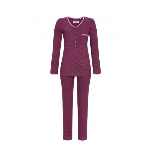 Ringella dames pyjama (purple wine, 0561211)