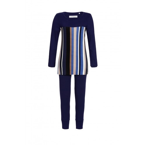 Ringella Cherie Line dames pyjama (nachtblauw, 0571202)
