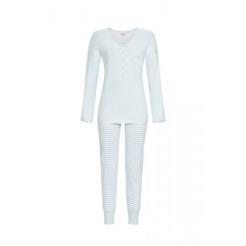 Ringella dames pyjama (eisblau, 0561216)