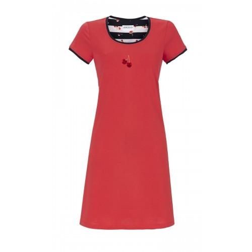 Ringella dames nachthemd KM (rood, 9211001)
