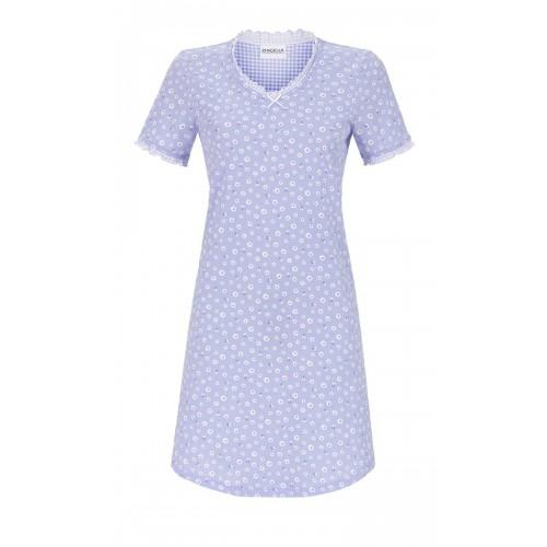 Ringella dames nachthemd KM (blauw, 9211029)