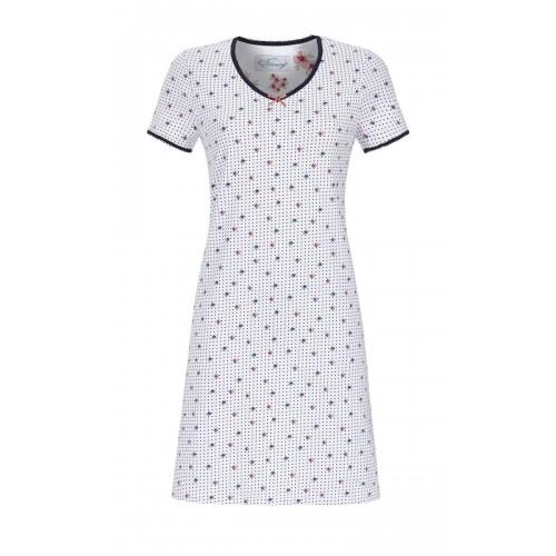 a0f1926a9c9 Ringella Bloomy dames nachthemd (wit, 9251017)