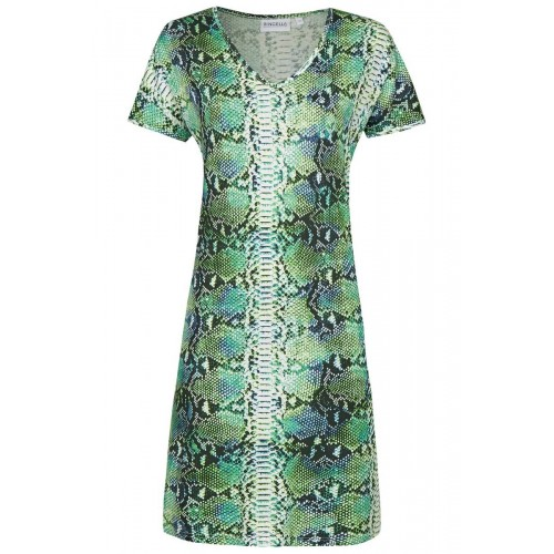 Ringella dames beach dress KM met V-hals (smaragd, 221042)