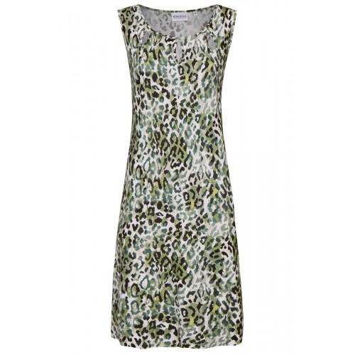 Ringella dames beach dress met luipaard-print (agave, 221051)