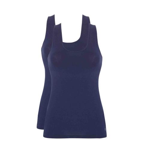 Ten Cate shirt 2 pack (donkerblauw)
