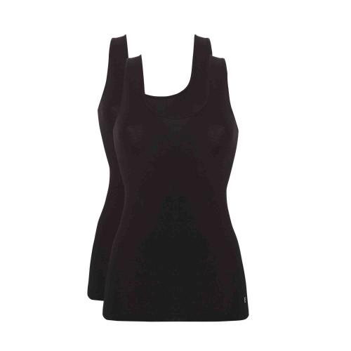Ten Cate shirt 2 pack (zwart)