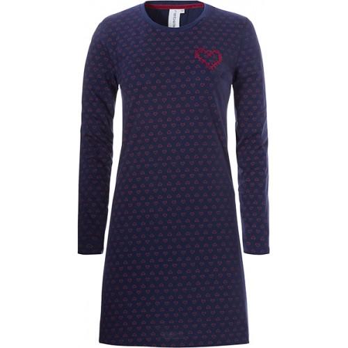 Rebelle dames nachthemd (dark blue, 11192-432-2)