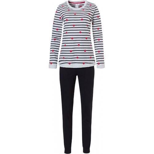 Rebelle dames pyjama (lichtgrijs, 21192-421-2)