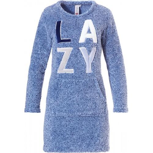 Rebelle dames nachthemd (blauw, 81192-404-3)