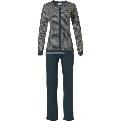 Pastunette dames pyjama (dark green, 20202-148-2)