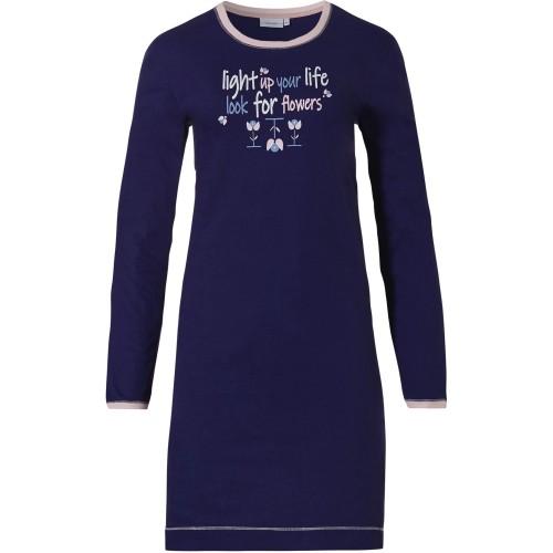 Pastunette dames nachthemd (dark blue, 10212-150-2)