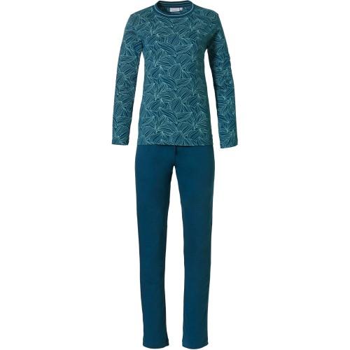 Pastunette dames pyjama (green, 220212-143-2)