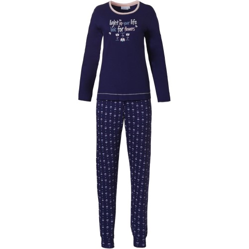 Pastunette dames pyjama (dark blue, 20212-150-2)