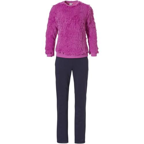 Rebelle dames huispak (dark pink, 81212-448-2)