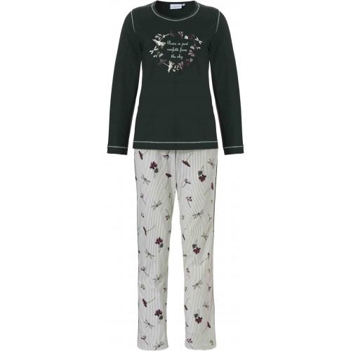 Pastunette dames pyjama (groen, 20182-100-2)