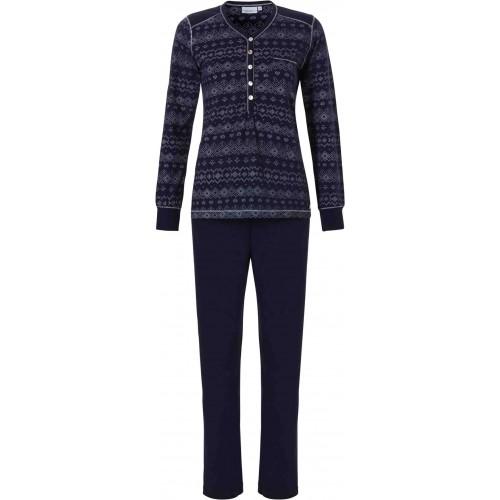 Pastunette dames pyjama (blauw, 20182-190-4)