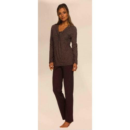 Pastunette dames pyjama (slategrey, 2032-309-2)