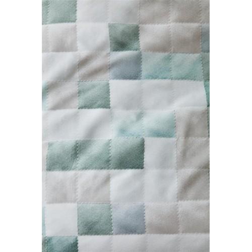 Ariadne dekbedovertrek Colours (blauw-groen)
