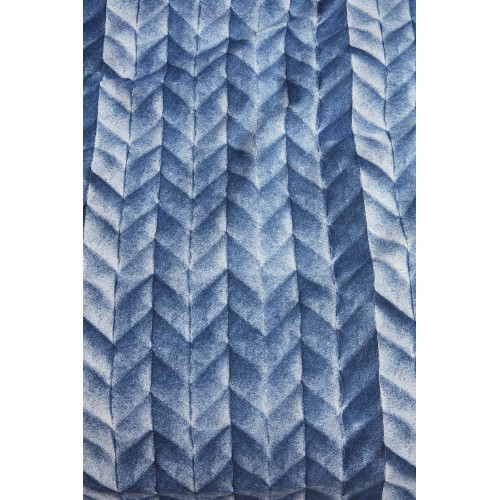 At home dekbedovertrek Fold (blauw)