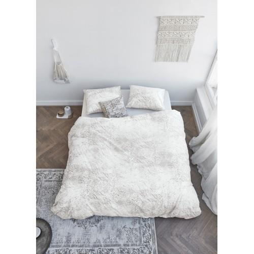 At home dekbedovertrek Soft (wit)