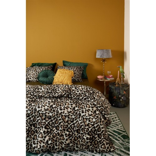 At home dekbedovertrek Untamed (brown)