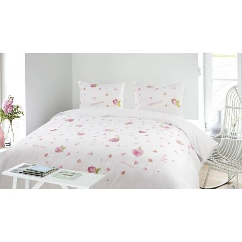 Marjolein Bastin dekbedovertrek Soft Roses (roze)