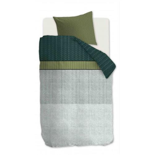 Beddinghouse dekbedovertrek Camaro (satijn, green)