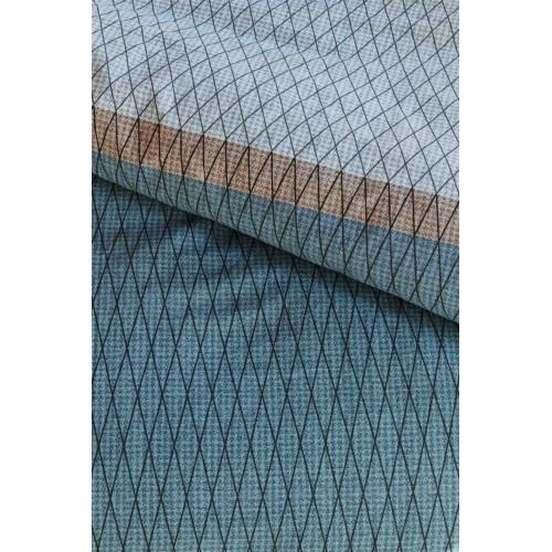Beddinghouse dekbedovertrek Leith (satijn, blauw)