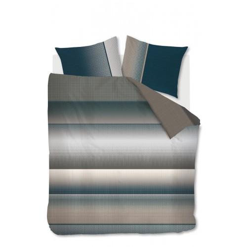 Beddinghouse dekbedovertrek Felice (satijn, grey)