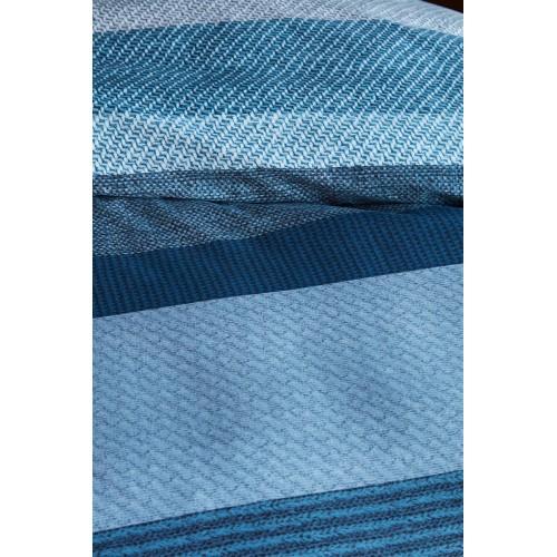 Beddinghouse dekbedovertrek Marne (twill, blue)