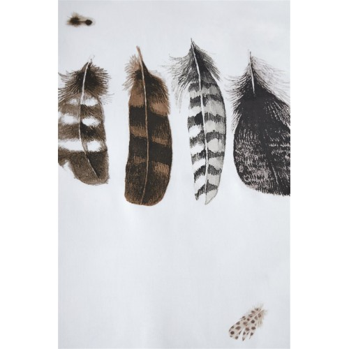 Marjolein Bastin dekbedovertrek Wild Feathers (natural)