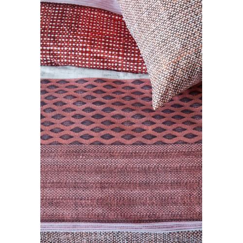 Beddinghouse dekbedovertrek Durness (satijn, rood)